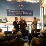 Presentazione dell'iniziativa da parte del Direttore Generale della Ferrotramviaria Massimo Nitti