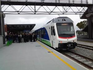 foto n. 1 nuovo treno Matera