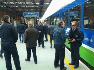 foto n. 2 nuovo treno  Matera