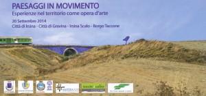 Paesaggi in Movimento 2014 invito